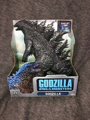 "2019 Godzilla King of the Monsters GODZILLA figure 20"" Long~In Hand & NIB"
