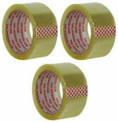 "Clear Packing Tape 2""X55 Yds (3 Pack)"
