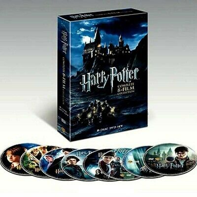 Harry Potter Complete 8-Film Collection English 8 DVD Discs Set New