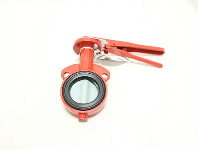 Bray Series 30 Manual Iron Wafer 3in Butterfly Valve