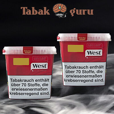 2 x West Tabak / Volumentabak Mega Box 315 g