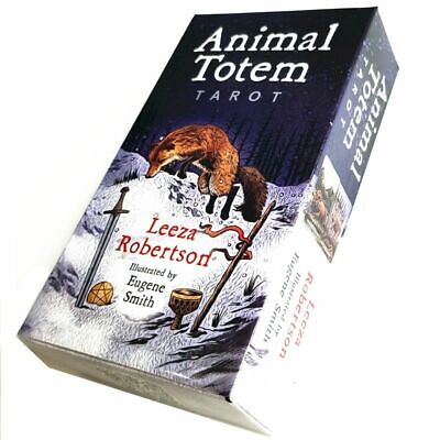 New Animal Totem Tarot Cards Deck Card Games 78 pcs/set