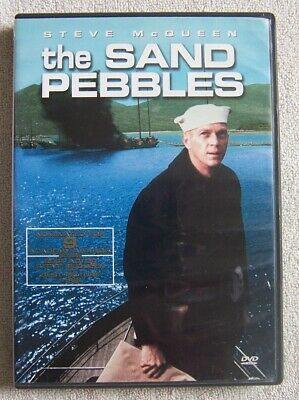 The Sand Pebbles (DVD, 2001) Wide Screen Very Good Condition