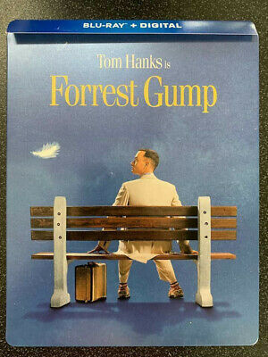 Forrest Gump Steelbook 2019 BLU-RAY ONLY+Case No Digital SAVE$$$ Combine Ship