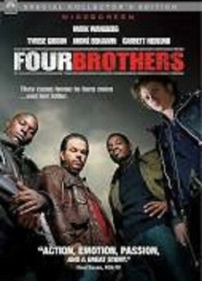 FOUR BROTHERS 2005 DVD Widescreen Special Collector's Ed John Singleton