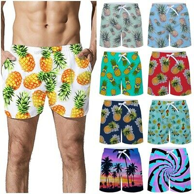 3f1373c189a2e Hawaiian Mens Swim Trunks Quick Dry Bathing Suits Beach Shorts with Mesh  Lining