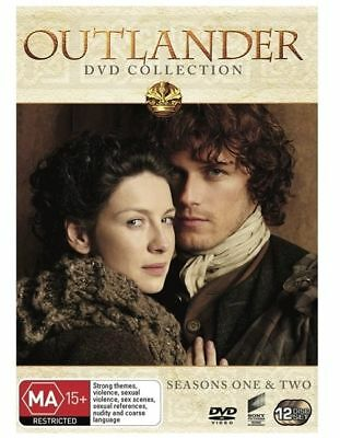 Outlander complete Season Series 1 and 2 DVD.Collection NEW