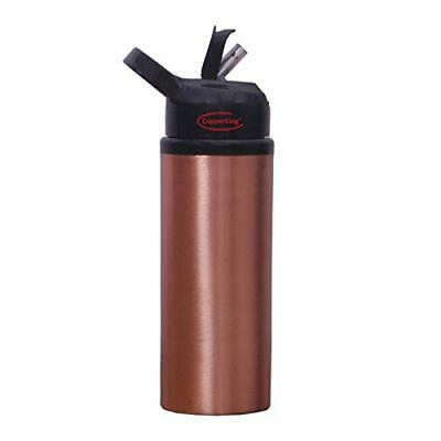 CopperKing Copper Sipper 600ml Water Bottle Kids and All for Regular Use