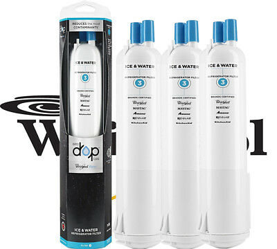 3PX EDR3RXD1 Genuine Whirlpool  4396841 4396710  Kenmore Refrigerator Filter 3