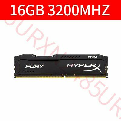16GB DDR4 PC4-25600 3200MHz CL16 288Pin 1.2V DIMM Desktop RAM For HyperX Fury UK