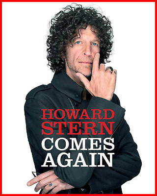 Howard Stern Comes Again Hardcover Pre-order 05/14/2019 Brand New Free Shipping
