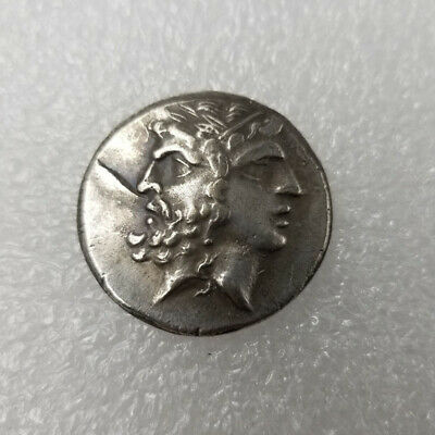 Silver Plated Rare Greek Coin Copper Coin Ancient Coin For Collection