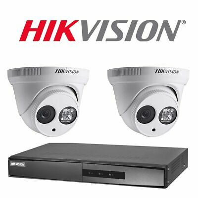 HIKVISION DS-2CD2123G0-I 2MP Fixed 2 8mm IP CCTV Camera 1080p IR