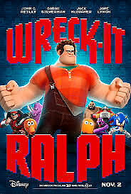 Wreck It Ralph DVD - Brand New Unopened! Free Ship