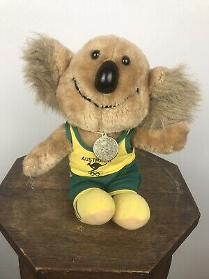 1984 Willy The Koala Mascot Olympic Games Plush Toy