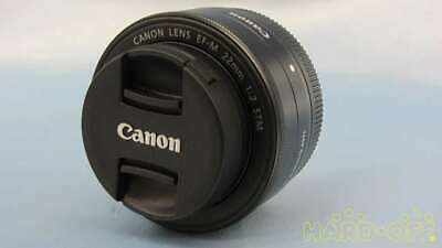 Canon Ef-M 22mm F2 Stm Wide Angle Single Focus Lens For