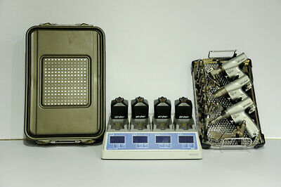 Stryker System 7 Set with System 7 universal charger and four 7215 batteries