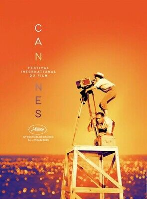 AFFICHE FESTIVAL FILM CANNES 2019 OFFICIAL POSTER AGNES VARDA 60 x 80CM NEUF