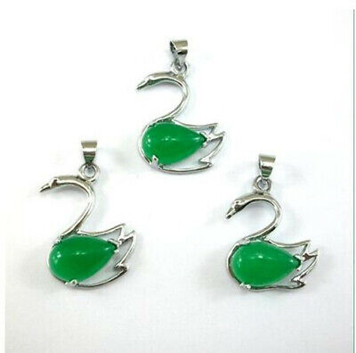 Amulet sale promotion mascot New Natural Green Jade Malay goose jade pendant