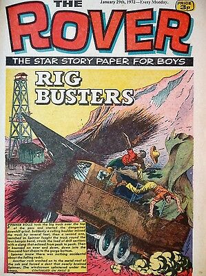 the rover comic january 29th 1972 no reserve rig busters and other storys free p