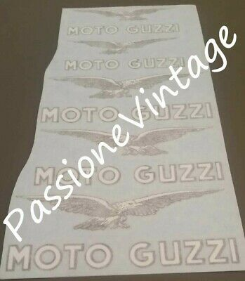 Moto Guzzi Kit decalcomanie aquile, Lodola, stornello etc/adesivi/stickers