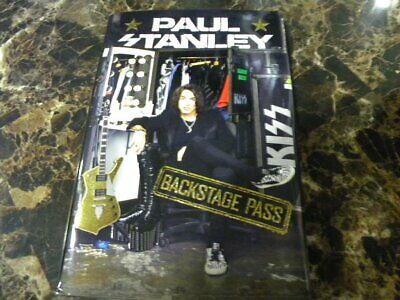 "Paul Stanley ""Backstage Pass"" autographed Book"