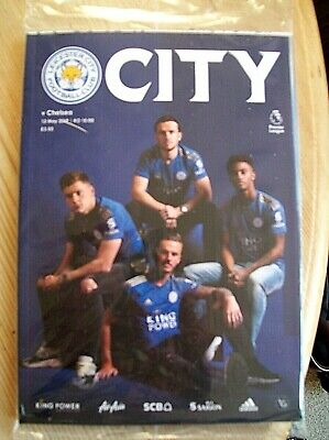 LEICESTER CITY  v CHELSEA   12th MAY  2019  BAGGED PROGRAMME & POSTER