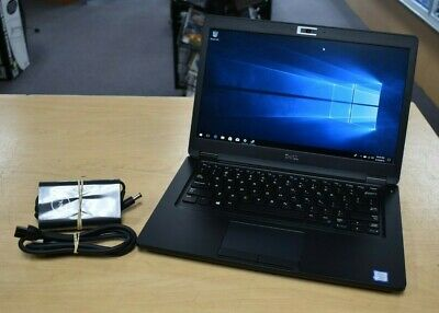 DELL LATITUDE 5490 Laptop i7-8650U 256GB SSD 8GB CMRA FP