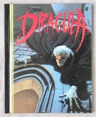DRACULA Bram Stoker ILLUSTRATED BY GREG HILDEBRANDT HARDCOVER BOOK