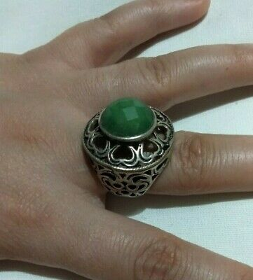 Extremely Ancient Ring Viking Silver Old Antique Rare Vintage Artifact Quality