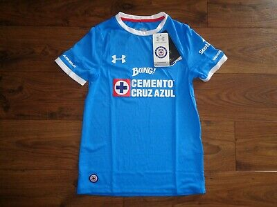 c339f2327 NEW Under Armour Deportivo Cruz Azul Youth Soccer Jersey Youth Medium NEW