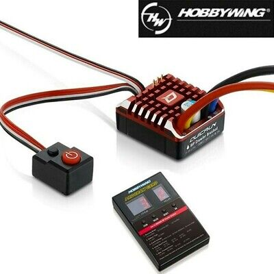 Hobbywing QuicRun 1080 Waterproof Brushed ESC 80A With Program Card for Crawler