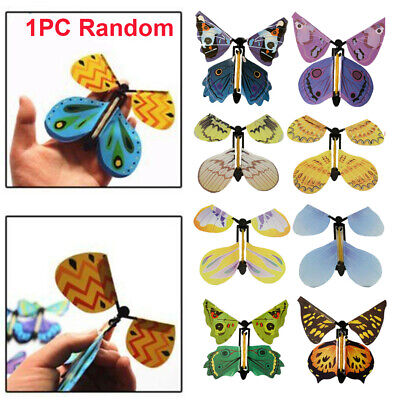 1x Magic Flying Butterfly Birthday Anniversary Wedding Greeting Card Gift Toy