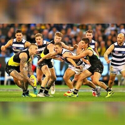 RICHMOND TIGERS v GEELONG CATS   AFL TICKETS   DEAD-CENTRE WING   FRONT 2 ROWS