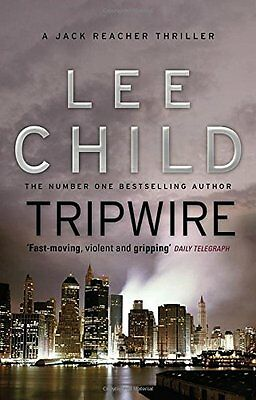Tripwire: (Jack Reacher 3) by Lee Child, NEW Book, FREE & Fast Delivery, (Paperb