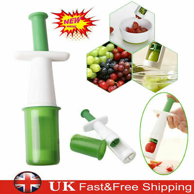Grips Grape Tomato Cherry Slicer Vegetable Fruit Cutter Foods Cooking Easy Tool