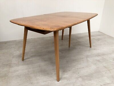 Stunning Vintage Ercol Mid Century 60S Grand Windsor Model 444 Extending Table