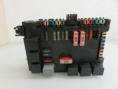 07-09 mercedes-benz w221 s550 rear trunk lid sam fuse relay module oem