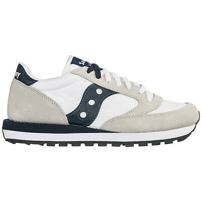 pretty nice c530f 54265 Saucony Chaussures Baskets Sneakers Homme En Daim Jazz Original Blanc 8Ab