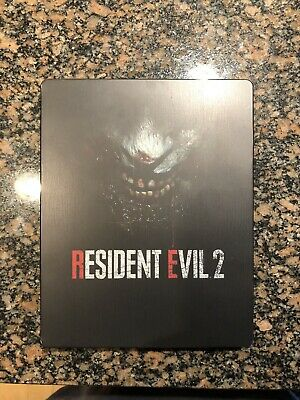 RESIDENT EVIL 2 REMAKE Steelbook ONLY Xbox One / PS4