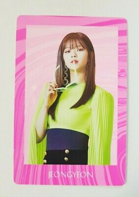 "K-POP TWICE Jeongyeon Special Photocard - Official 7th Mini Album ""FANCY YOU"""