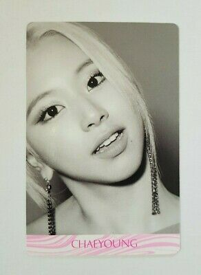 "K-POP TWICE Chaeyoung Special Photocard - Official 7th Mini Album ""FANCY YOU"""