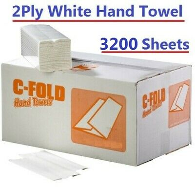 C Fold White Paper Hand Towels 2 Ply 2400 Tissue Paper Towel Z Fold V Fold