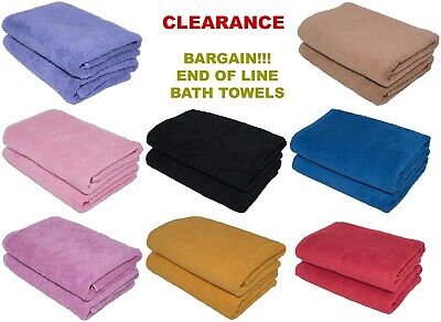 Wholesale Job Lot Large Bath Towel 70x140 cm, 500 GSM Hotel Quality 10/20/45 pcs