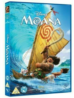 Moana DVD Movie New & Sealed Region 2 Fast & Free Delivery UK
