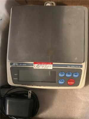 AND A&D EK 600i Precision Compact Scale with Power Supply 600g x 0.1g