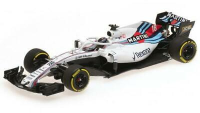 Minichamps 1:43 WILLIAMS MARTINI RACING MERCEDES - LANCE STROLL 2018