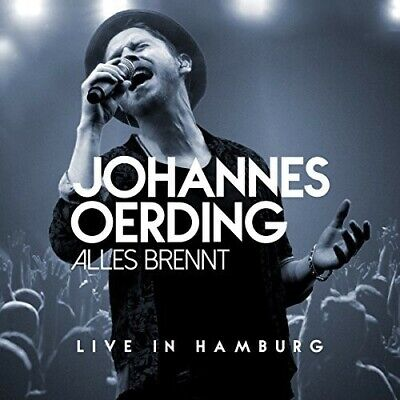 Johannes Oerding - Alles Brennt: Live In Hamburg [New CD] With Blu-Ray, Germany