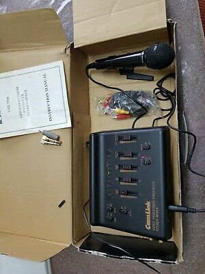Vintage Camlink VMX 2500 Video & Audio Editor little used  in Box with instructi