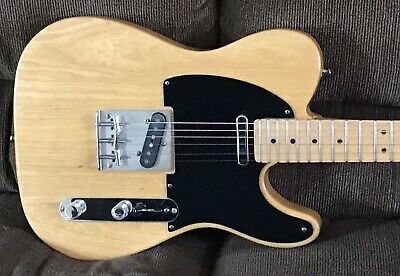 1999 Fender American Standard Natural Ash Telecaster with Quality Upgrades USA